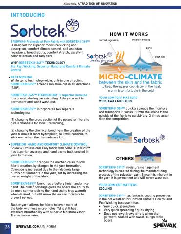 SORBTEK EXPLAINED